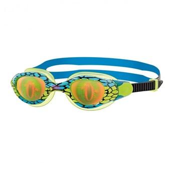 Oculos de Natação Sea Demon Jr Verde/Azul Zoggs
