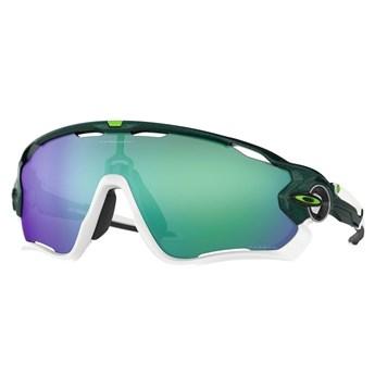 Oculos JawBreaker Esportivo de Sol Lentes Prizm Jade Iridium Edição Cavendish Oakley