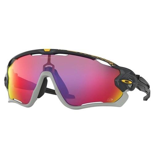 Oculos JawBreaker Esportivo de Sol Lentes Prizm Road Edição Tour de France Oakley