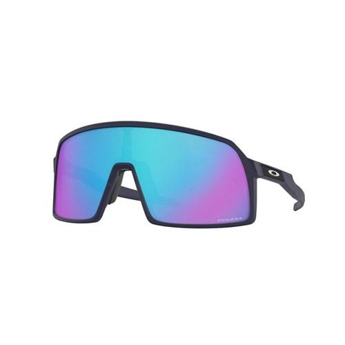 Oculos Oakley Sutro S Esportivo de Sol Azul Navy- Lentes Prizm Sapphire Oakley