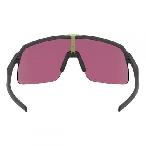 Oculos Sutro Lite Esportivo de Sol Preto Fosco - Lentes Prizm Road Jade Oakley