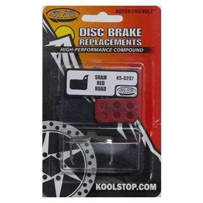 Pastilha de Freio a Disco KS-D297 em Resina (composto organico) SRAM RED Road Kool Stop