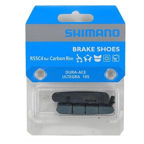 Refil de Sapata de Freio R55C4 para Aros de Carbono - 105, Ultegra & DuraAce Shimano