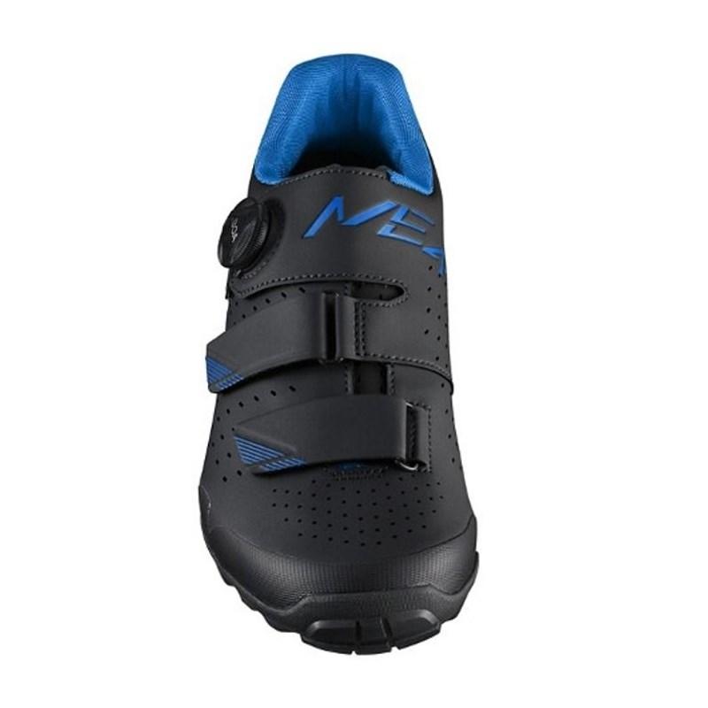 Sapatilha Ciclismo MTB Spinning SH-ME4 Preto e Azul Shimano
