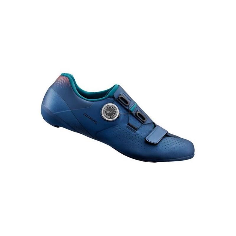Sapatilha Ciclismo Road SH-RC500 Feminina Azul Shimano