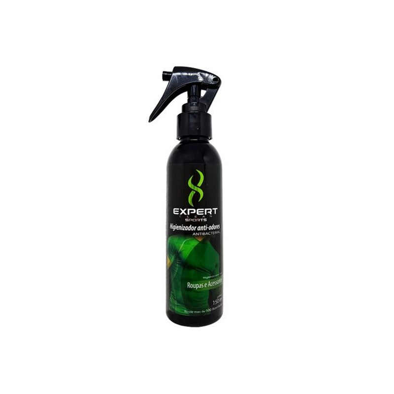 Spray Anti-Odor para Roupas e Artigos Esportivos Masculino 150ml Expert Clean Sports