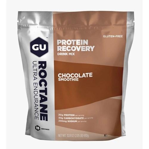 Suplemento GU ROCTANE Protein Recovery Drink Chocolate Smoothie 930g GU